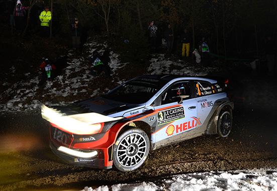 2016 FIA World Rally Championship / Round 01 /  Rally Monte Carlo // 21st - 24th January, 2016 // Worldwide Copyright: Hyundai Motorsport